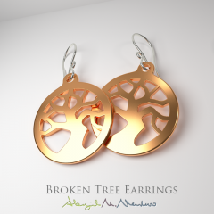 BrokenTreeEarrings-BronzeWM