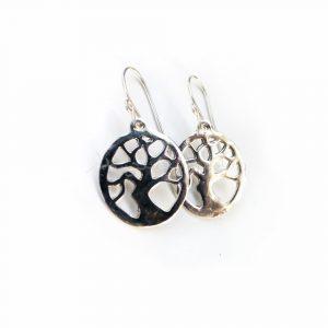 Broken Tree Earrings – Minimalist