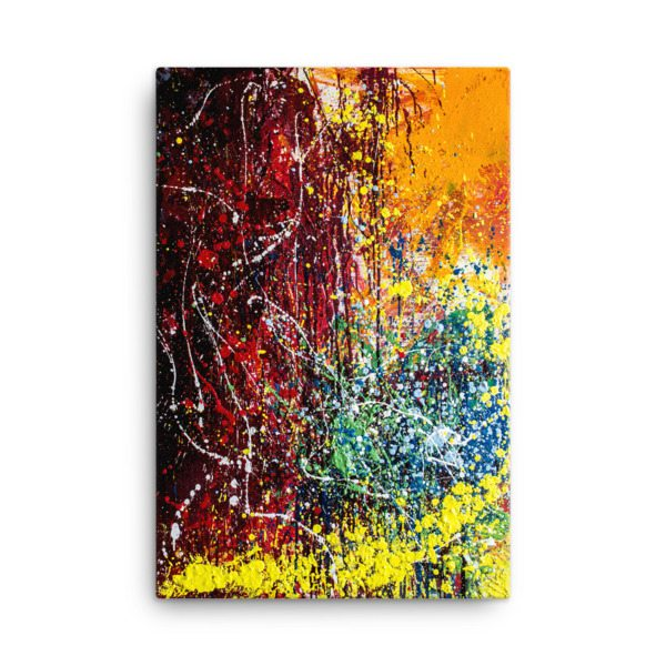 Brilliant Chaos Stretched Canvas Reproduction